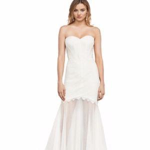 BCBG MaxAzria Lace Strapless Wedding or Prom Dress